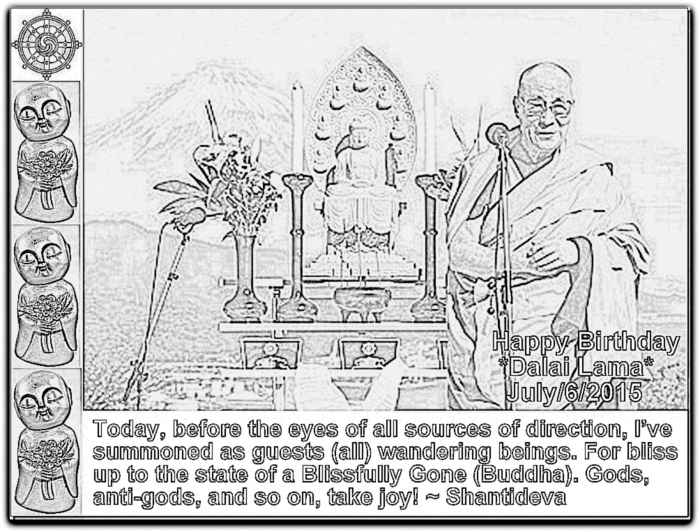 Dalai Lama's Life In Pictures & Shantideva's Engaging In Bodhisattva Behavior, E21
